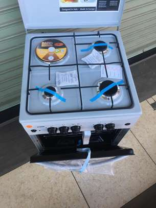 mika Standing Cooker, 50cm X 50cm, 3 + 1, Electric Oven, Silver