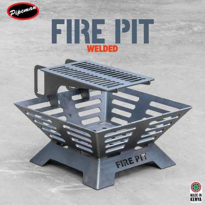Pipeman, Steel Deep Bowl Fire Pit