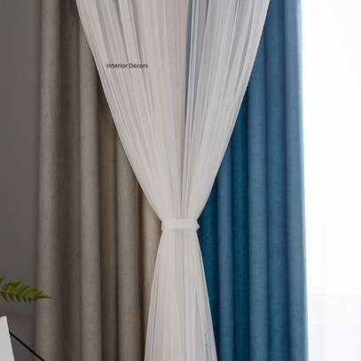 High-quality curtain and sheers image 2
