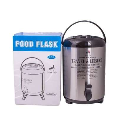 Nice One Portable Flask 9.5 Litres, Hot Tea / Coffee / Beverages image 1