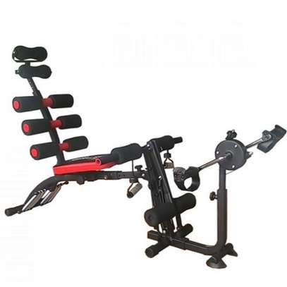 Six Pack Bench with Cycle image 2