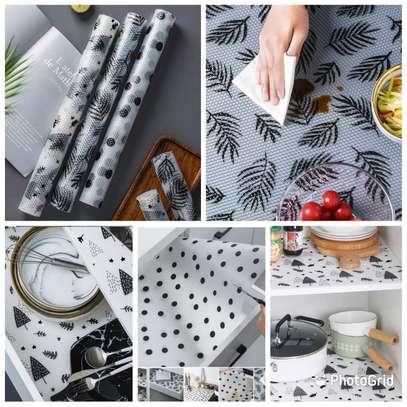 Black shelf / multipurpose mat rolls image 1