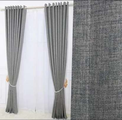 Linen Grey Curtain image 2