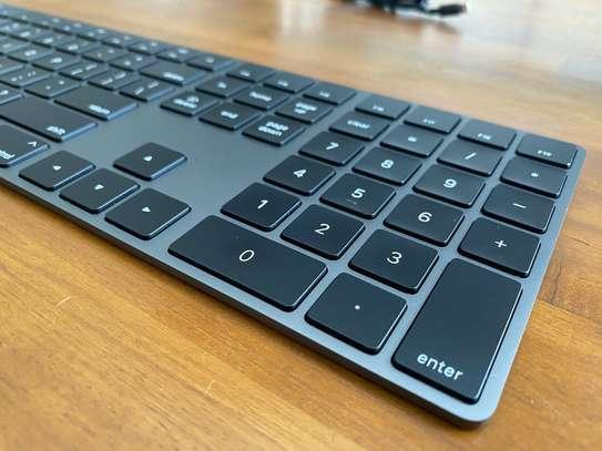 Bluetooth Wireless Aluminum Keyboard Space Gray image 1