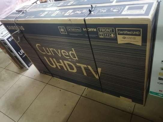 Samsung 65inch smart curved 4k tv image 1
