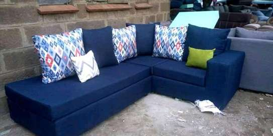 Sofa set made by hand wood and good quality material image 4