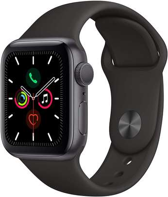 Apple Watch Series 5 (GPS, 40mm) - Space Gray Aluminum Case with Black Sport Band image 1