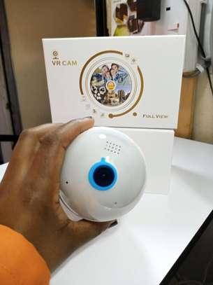 Cctv camera bulb 1080P HD IP Camera 3D panoramic camera WiFi Ip camera image 1