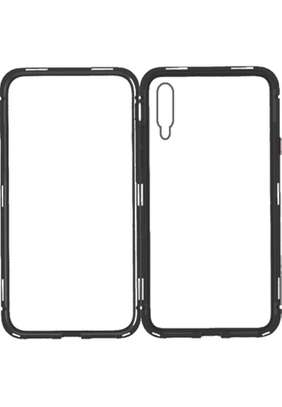 Magnetic Luxury Cases For Samsung A70,A60,A50,A40,A30,A20 With Tempered Back Glass image 6