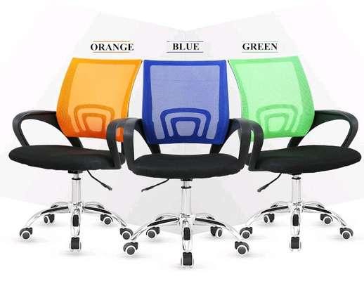 Computer desk chair image 1