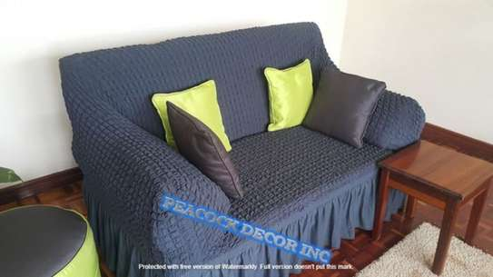 Ready Made Loose Covers 5 seater 11500/= image 14