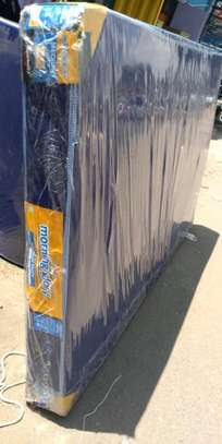4 by 6 MOMBASA FREW DOORSTEP DELIVERY medium blue mattress 6 thick