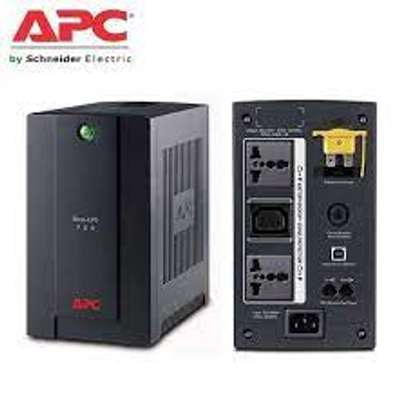 Apc Back-UPS Line-Interactive 700VA 4AC Outlet(s) Tower Black Uninterruptible Power Supply (UPS) image 2
