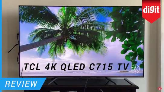 TCL Android 50 inches Q-Led 50C715 Smart UHD-4K Digital TVs image 1