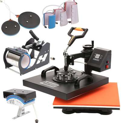 Heat Press Machine 8 in 1 image 1