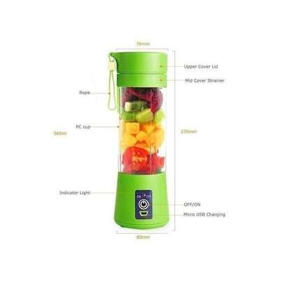 Portable Blender Juicer Cup / Electric Fruit Mixer / USB Rechargeable Juice Blender 380mL image 3