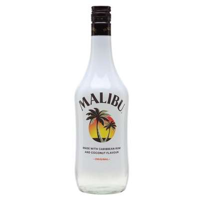 Malibu Carribean Rum With Coconut Liqueur - 1L image 1