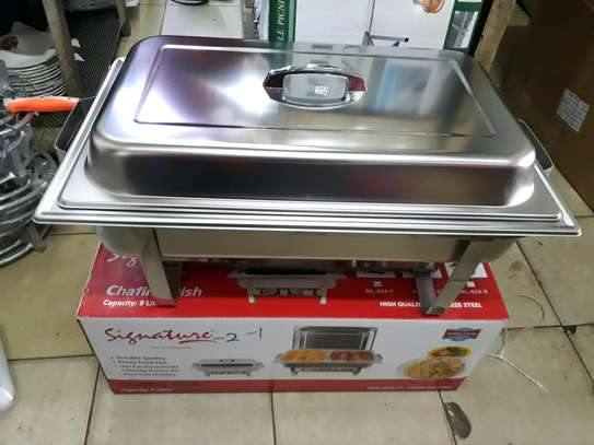 Signature single chaffing dish/Food warmer/Cheffing dish image 2