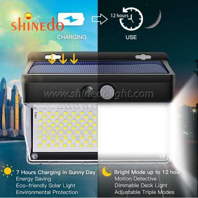 262 LED Solar Motion Sensor Lights Outdoor image 6