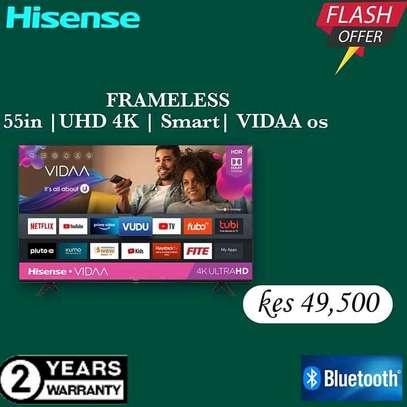 55 Hisense UHD 4K LED TV - Flash Sale image 1