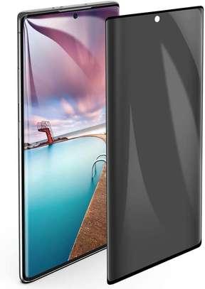 UV Privacy Anti-Spy Anti-Peep NANO Liquid Full Glue Tempered Glass For Samsung Note 20/Note 20 Ultra image 5