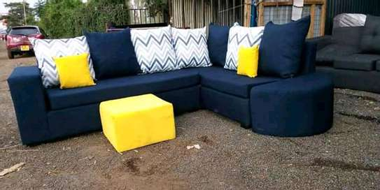 Sofa set made by hand wood and good quality material image 9