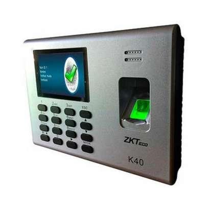 Zkteco Biometric Time Attendance Machine image 1