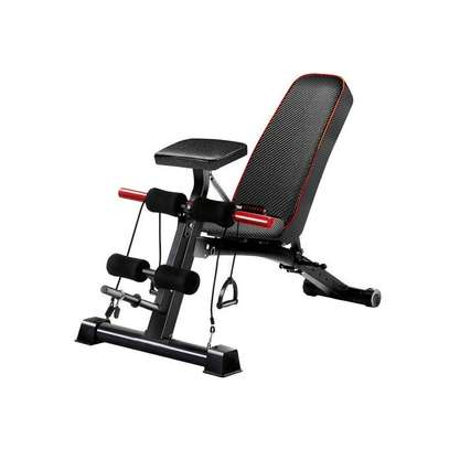 Adjustable 90°Flat Weight Bench image 1