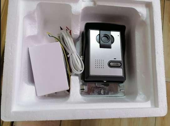Color Video Door Phone model VT 7 inches  inbiult memory 4GB upto 1080P resolution image 1