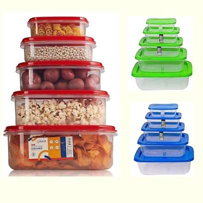5Pcs Storage Containers