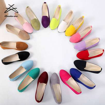 Classic Flat suede Shoes 18 Colors (Dolly shoes)