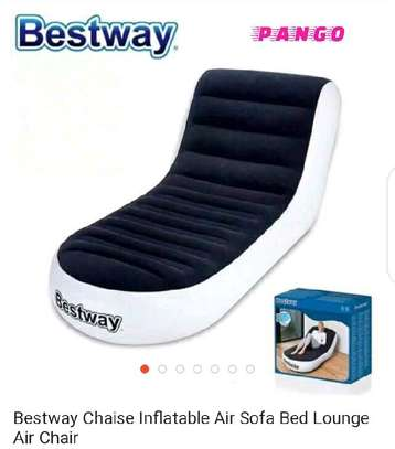 Bestway chaise inflatable air chair image 2