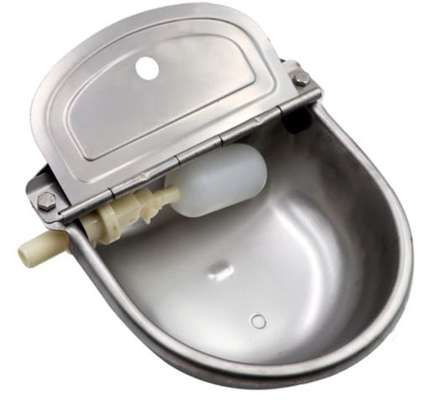 Automatic Cow Drinking Bowl - Stainless image 1