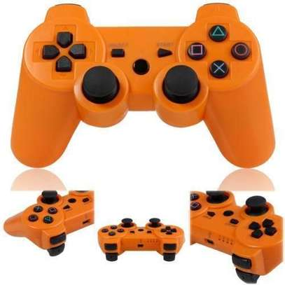 P3 PS3/PC Pad Double Shock 3 -Wireless Controller - Orange image 1