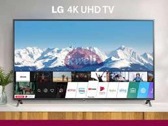 LG 55 inches 4k smart Digital TVs New 55NU7340 image 1