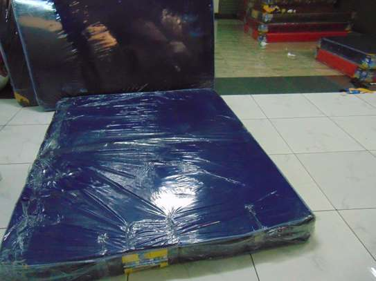 5.5*6*6 HEAVY DUTY BLUE MATTRESSES(FREE HOME DELIVERY) image 2