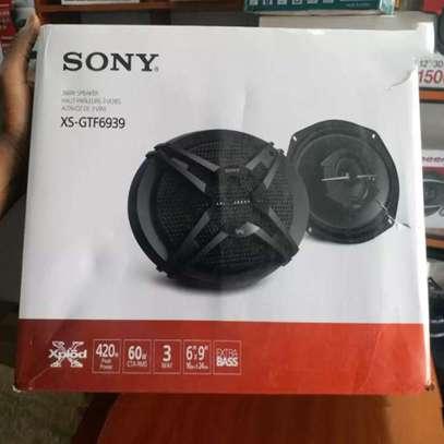 Sony XS-GTF6939 3-way 6x9 Inch Car Speakers image 2