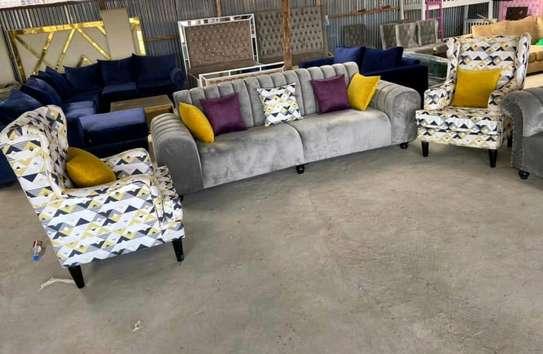 5 seater fancy sofa image 2