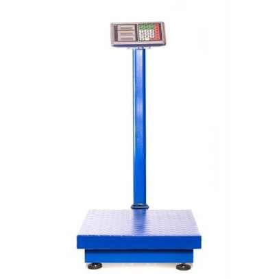 Easy to use 300kg capacity electronic platform scale image 1