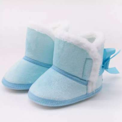 Warm fur lined Baby boots image 2