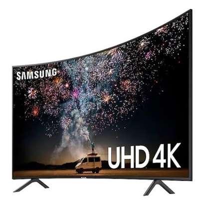 Samsung 65 Inch HDR UHD 4K Smart Curved LED TV image 1