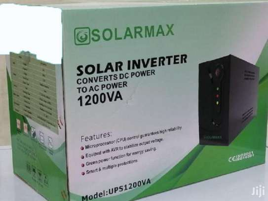 1200VA Or 1.2KVA Solar Max Ups Power Back Up image 1