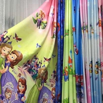 Kids Cartoon Curtains image 2
