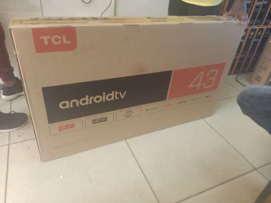 """tcl 43 """"smart digital android tv image 1"""