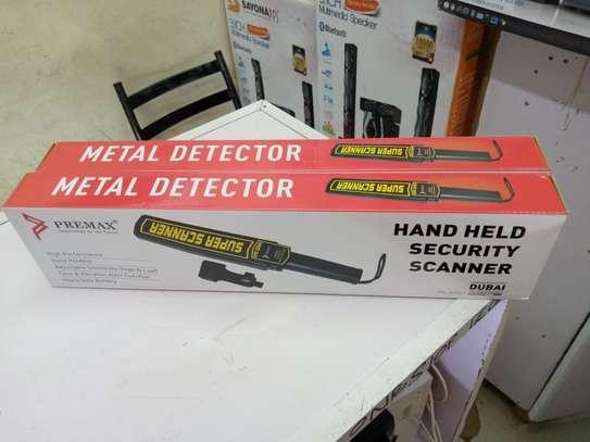 Super Scanner Security Hand Held Metal Detector image 1