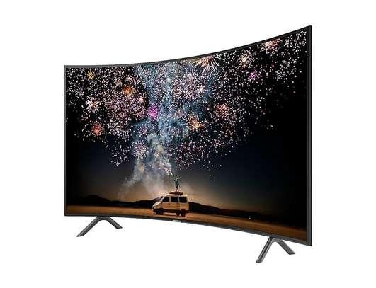65 inch Samsung HDR 4K UHD Smart Curved LED TV UA65RU7300K 2019 MODEL image 2