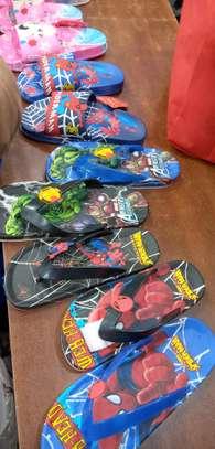 Kids cartoon themed sandal image 1