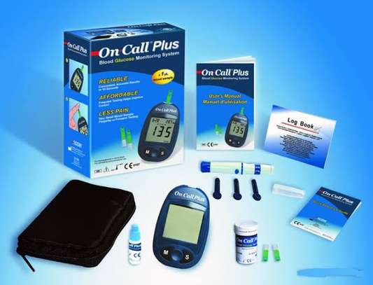 On call plus Glucometer image 3