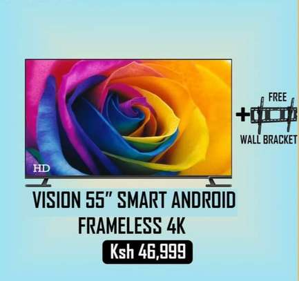 55 inch Vision Android smart UHD 4K smart image 1