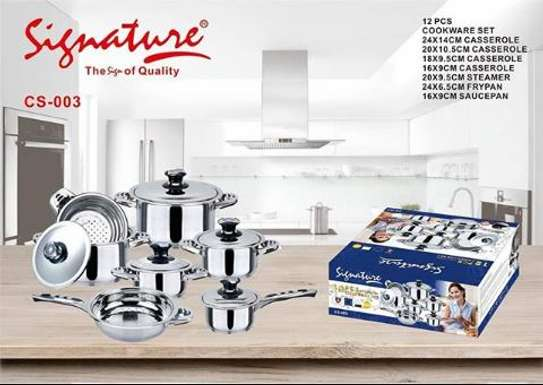 12 pieces cookware set induction sufurias